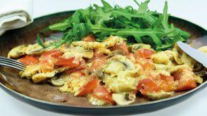 proteïnedieet omelet
